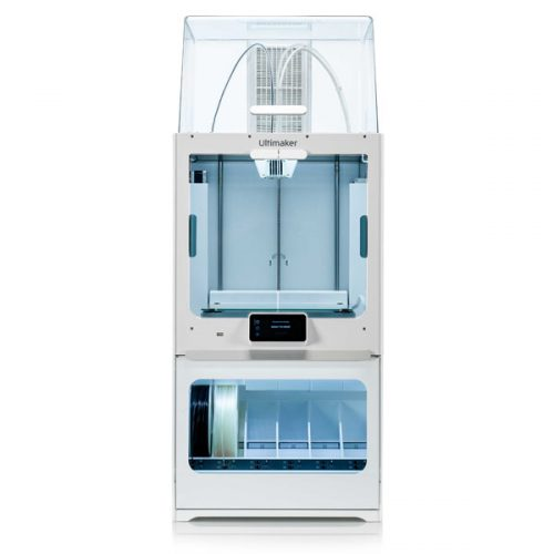 Ultimaker S5 Pro Bundle. Incluye impresora 3D Ultimaker S5, Air Manager y Material Station.