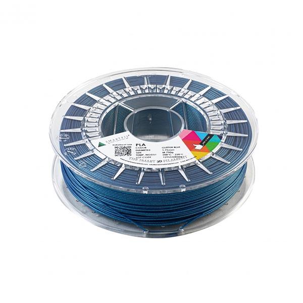 Smartfill Filamento PLA GLITTER Azul Escarcha 750g 1.75