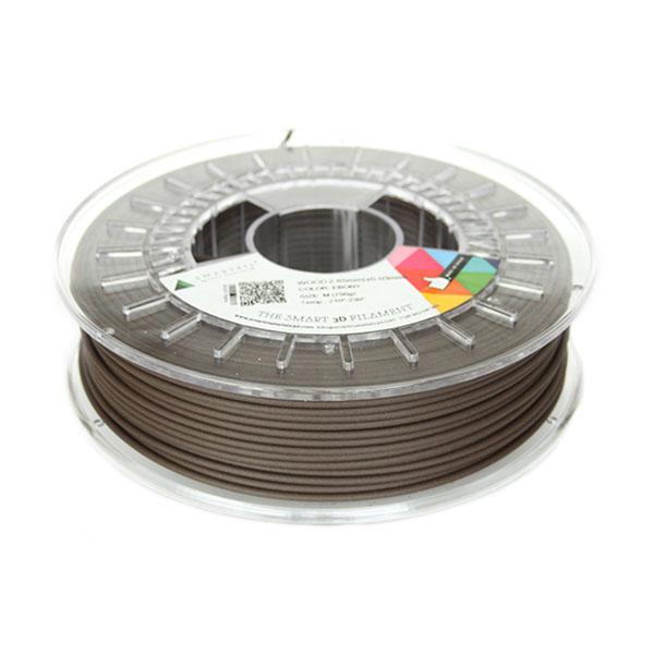 Smartfill Filamento PLA WOOD Ébano 750g 2.85